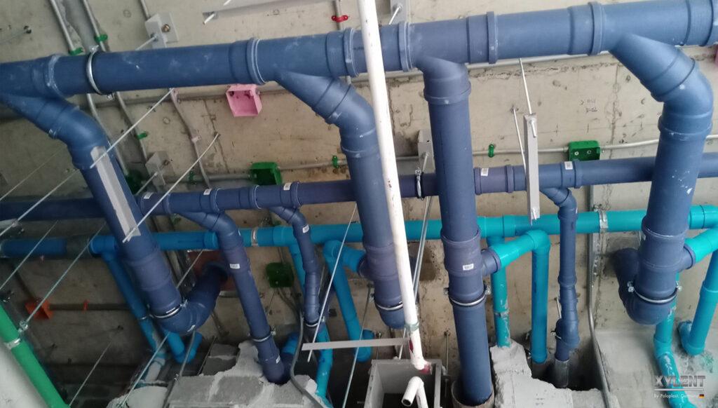 เลือกท่อน้ำทิ้ง เลือกท่อไซเลนท์