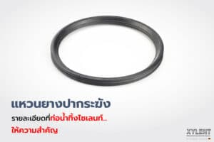 ท่อน้ำทิ้งไซเลนท์ ปากระฆังแหวนยาง…ติดตั้งง่าย มั่นใจไม่รั่วซึม-0